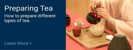 A guide to the preparation of different types of tea