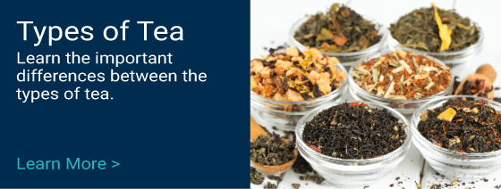 Different the many different Types of Tea